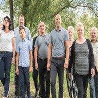 Familie Bornkessel und Mitarbeiter