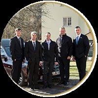 Das Team um Sven Heisig