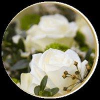 Blumen- und Grabschmuck
